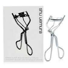 shu uemura new generation eyelash curler. its rounded silicone rubber pad allows for the appropriate amount of pressure to curl lashes naturally, without crimping or bending. shu uemura new generation eyelash curler
