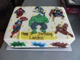 superhero sheet cake the schizophrenic cake san diego bakeries twiggs san diego bakery