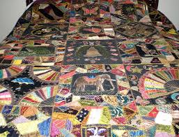 Antique Victorian Crazy Quilt – Q is for Quilter & Victorian-Crazy-Quilt-1 Adamdwight.com