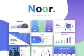 008 Noor Gradient Powerpoint Template Cover 1099x733 Ideas