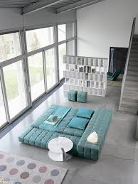 Turquoise Living Room Chair Living Room Fascinating Blue Ocean View Over The Glass Windows