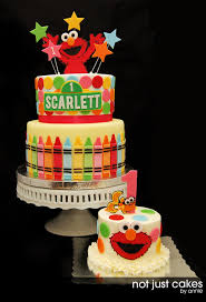 Elmo 1st Birthday Cake Cake By Annie Cakesdecor