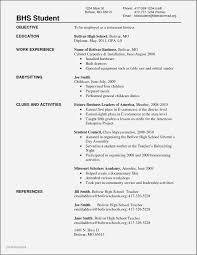 Resume Samples No Working Experience Students Best Of 20 Resume No