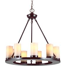 sea gull 31587 710 ellington 9 light burnt tier chandelier sienna single com