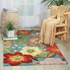 beach decor area rug aqua fl islander handmade 2x3 area rugs coastal design