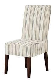 harbor stripe parson chair slipcover dining chair slipcovers dining chairs wing chair lounge