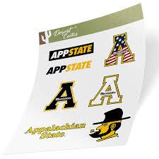 Appalachian State University Full Sheet Sticker Vinyl Decal Laptop Water Bottle Car Scrapbook Full Sheet