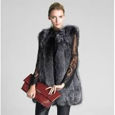 uwback 2016 new winter fur coat vest women warm faux plus size fur jacket thicken vintage