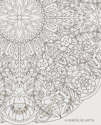 Small Picture Large Format complex coloring page by Cynthia Emerlye 24 inches
