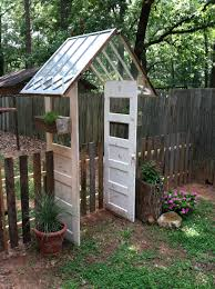 up cycled pallets windows and doors