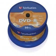 <b>Диск DVD</b>-<b>R Verbatim 4.7Gb</b> 16х Cake Box (50шт) <b>Verbatim</b> 1390 ...