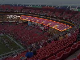 Fedex Field Club Level Seating Chart Club Seats Fedex Field Elcho Table