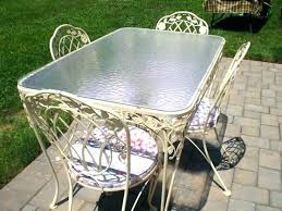 vintage woodard wrought iron patio furniture vintage