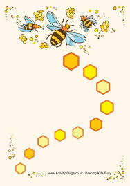 Bee Behaviour Chart Bee Reward Chart Available In Colour As Well And Black And