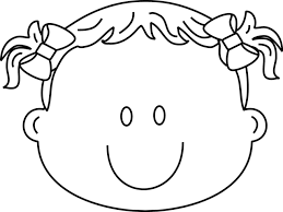 Small Picture Girl Happy Face Coloring Page Greatest Book Bebo Pandco