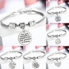 bracelet whole love heart perfect gift for family members for birthdays sister mom clear charm bracelet