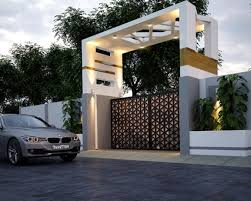 And if you have not got an idea for gates designs, look here because we have chosen the best gate design you can make for your home. 40 Awesome Front Gate Design Ideas Tips Improve Home Security Entrance Gates Design Front Gate Design House Gate Design
