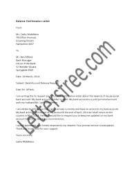 Balance Confirmation Letter Format For The Auditors And Annual