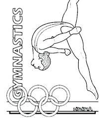 Gymnastics Coloring Pages Coloring Book Gymnastics Coloring Pages