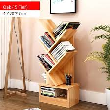 5 tier wooden book rack 3 colors bookshelf design more