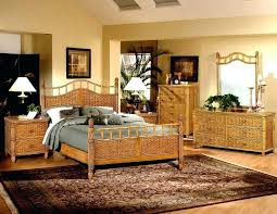 Wicker Bedroom Furniture 4 4 Chest Shown In Latte Stain Wicker ...