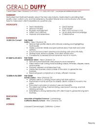 Hair Stylist Resume Cover Letter Hair Stylist Cover Letter Sample Resume Examples 100a Example 39
