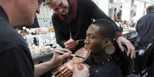 black panther s makeup designer on the challenges of bringing wakandan tribal makeup to life