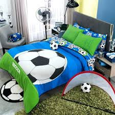 soccer bed set sports bedding set for boy reversible guarantee boys free chelsea soccer bed set