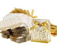 100tlg G Ste Kartonage Hochzeit Party Geschenkbox Tischkarten Box