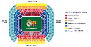 Fc Barcelona Seating Chart El Clasico 2020 Tickets Real Madrid Vs Fc Barcelona El