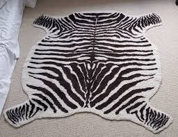 the domestic use of the zebra skin rug depends on its size the size also depends on the size of the zebra from which the hide was acquired