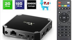 AliExpress 4K SMART TV Box X96 mini box and keyboard - YouTube