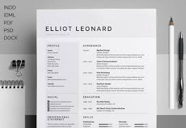 'Elliot' is a clean multipurpose design, which includes a single page resume /CV and cover letter. All artwork and text is fully customisable; ...