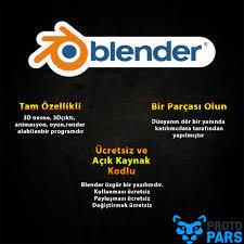 Blender Programı Bize Ne Tür Avatajlar Sağlıyor? - Blender - Protopars