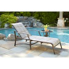 statesville padded patio chaise lounge
