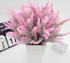 12pcs artificial lavender flowers