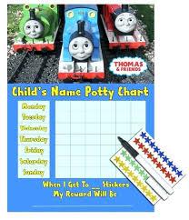 Thomas The Train Potty Reward Chart Kids Children Boys Training