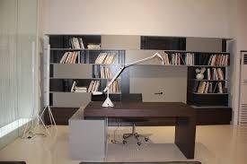 high office desk. S005 Modern Office Desk In Grey High Gloss / Wenge