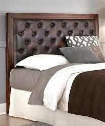 brown headboard chic brown leather headboard king size best leather headboard ideas on leather bed green