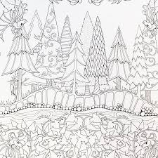 The Enchanted Forest Coloring Book For Adults Beautiful Enchanted