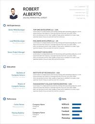 Modern Resume Template Google Docs Template Free Modern Resume Templates Minimalist Simple