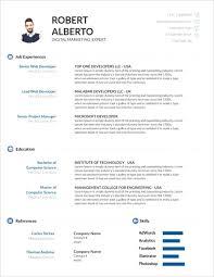 Google Doc Resume Template Modern Template Free Modern Resume Templates Minimalist Simple