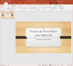 Microsoft Powerpoint 2016 16 0 9226 2114 Descargar Para Pc Gratis