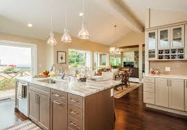 Amazing Kitchen, Appealing White Rectangle Modern Woden Kitchen Island With Sink  And Dishwasher Stained Ideas: