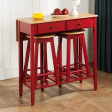 kitchen table with stools underneath within wood coffee ottomans console tables decor 6