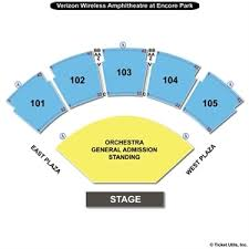 Verizon Wireless Amphitheatre Online Charts Collection