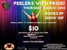 Peelers With Pride! feat. Ivy Daniels!, Tampa FL - Mar 23, 2017 - 9:00 PM