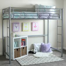 Twin Metal Loft Bed Black Multiple Colors Available Walmartcom