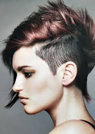 80er Frisuren Kurze Haare Seitlich Abgeschnitten Rasiert