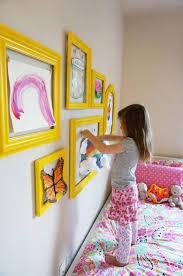 kids diy gallery wall art display